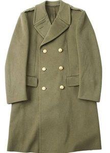 Vintage 1970s Italian Army Officer Coat